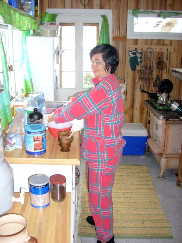 me in Japanese pajamas