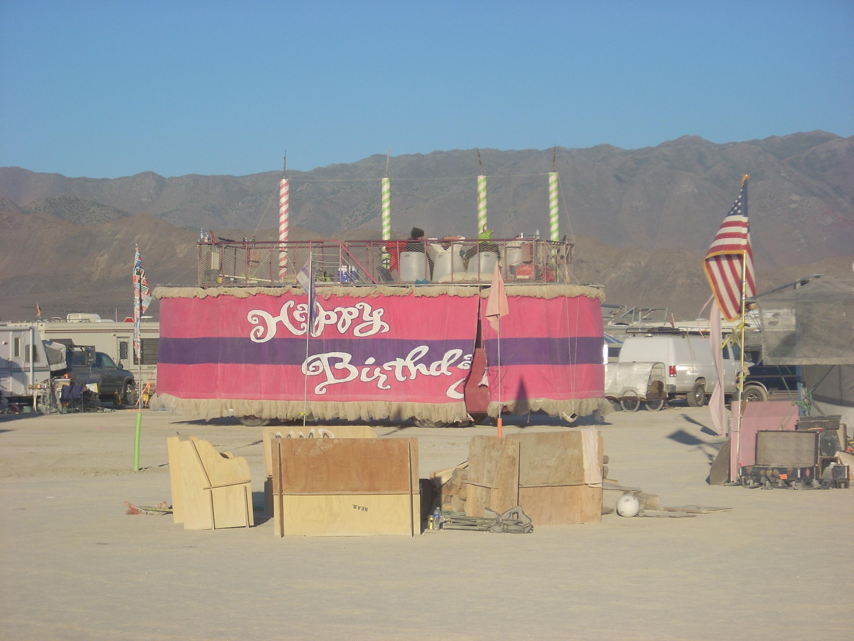 Burning Man Pollyanna Rainbow Sunshine and the Needles of Doom